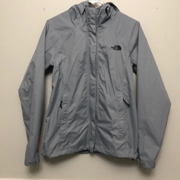 c1d11f19a Women's North Face dry vent gray rain jacket